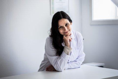 MADE IN OSLO: Kristina Dunn startet hudpleiemerket Rua i fjor. Nå selger hun serum og eliksir til kunder i flere land.