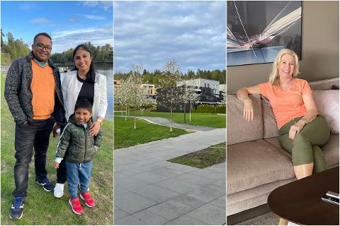 FLYTTET: AO har snakket med tidligere Osloboere om hvorfor de har valgt å flytte ut av byen – nærmere bestemt til Lørenskog.