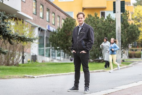 "VIL BLI HØRT: Benjamin Endré Larsen leder Facebook-gruppa ""Et medlemsstyrt Obos."""