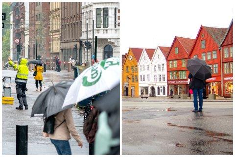 REGN: Mai ble en våt måned i Oslo. Faktisk ble det våtere her enn i Bergen.