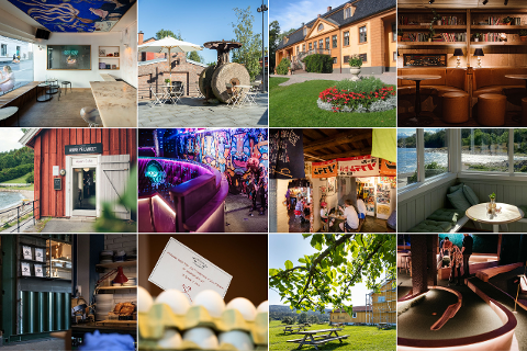 STOR OVERSIKT: Avisa Oslo har samlet sammen unike spisesteder det er verdt å reise byen rundt for å besøke i sommer.