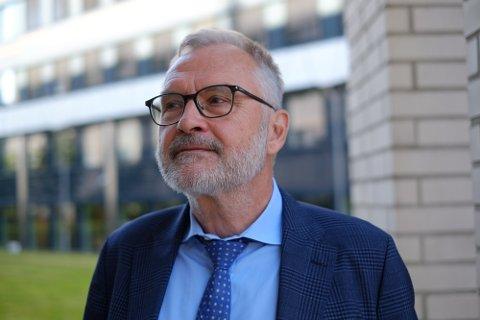 SER EN TREND: PST-sjef Hans Sverre Sjøvold sier flere enn normalt er aktive i transnasjonale høyreekstreme digitale fellesskap.
