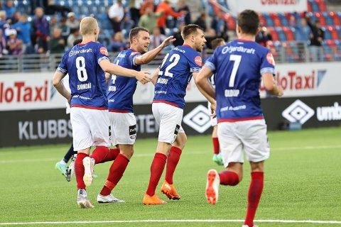 STOR KAMP: Vålerenga spilte en fantastisk kamp mot Gent. Men det holdt ikke til å gå videre i Europa.