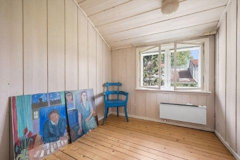FORBEHOLDT KUNSTNERE: Mange kjente kunstnere har bodd på Ekely. Nylig ble ett av husene i kunstnerkolonien lagt ut for salg.