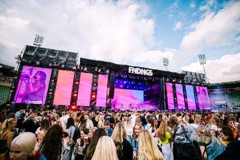 Findings ble arrangert på Bislett Stadion for første gang i 2014. Nå er årets festival avlyst.