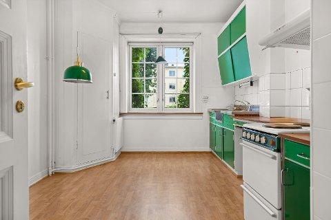 SVÆRT POPULÆR: Denne leiligheten ble solgt for hele 2,6 millioner over prisantydning.