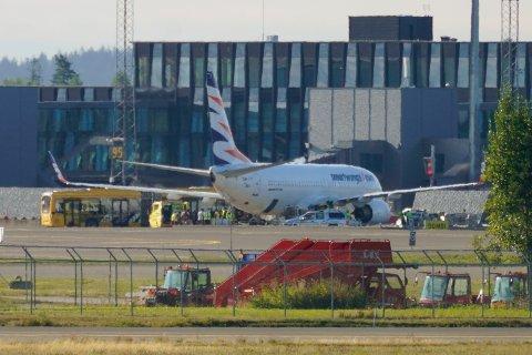 Et fly fra flylskapet Smartwings ankom fredag 20. august fra Tbilisi i Georgia til Oslo lufthavn Gardermoen. Om bord var flere evakuerte fra Afghanistan.