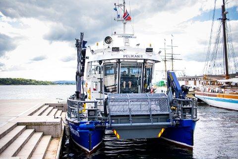 MILJØBÅT: Pelikan II er verdens første elektriske miljøbåt av sitt slag.