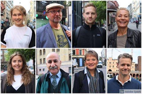 FORNØYD: De fleste Avisa Oslo snakker med er fornøyd med gårsdagens resultat. Men noen uttrykker sterk bekymring. Andre ble overraska over at MDG ikke kom seg over sperregrensa.