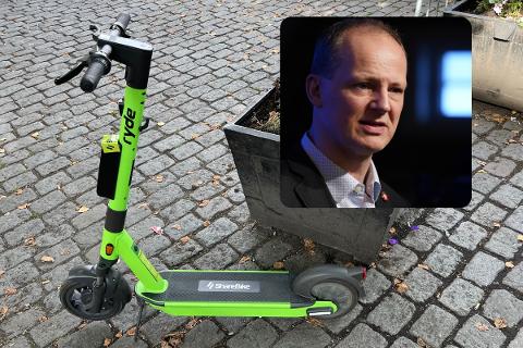 DELEIER: Nestleder i Frp og tidligere samferdselsminister Ketil Solvik-Olsen er deleier og styremedlem i ShareBike, som er blant de nye elsykkelaktørene i Oslo.