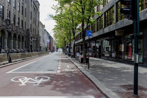 GATELANGS: Fredag gikk COWI AS, Bymiljøetaten og Oslo kommune  helt til topps og vant pris for den fremtidige utformingen av byens gater. Bildene viser eksempler på den type løsninger som ligger i den nye gatenormalen.