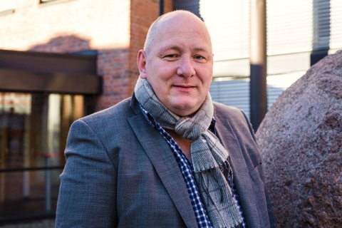 FORNØYD: Roger Dehlin, leder i Fagforbundet i Oslo.