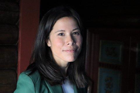 BER OM MILJØBLOKK PÅ STORTINGET: Lan Marie Berg, som er påtroppende stortingspolitiker valgt inn fra Oslo MDG.