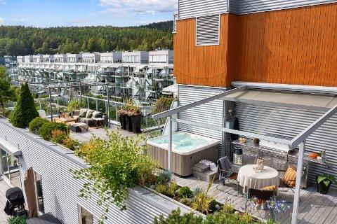 UNIK: Leiligheten på Årvoll er et sjeldent funn i området.