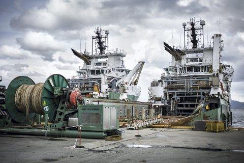 MINDRE AKTIVITET: Lite aktivitet grunna dårlege tider i oljebransjen fører til at CCB Mongstadbase no går til det skritt og permitterer tilsette. Kor mange er førebels ikkje klart. ARKIVFOTO: MORTEN SÆLE