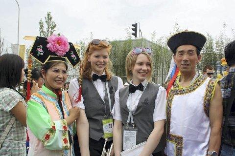 Tur til Kina: I 2010 reiste Manger Skulemusikklag med følge til Shanghai for å spele på Expo-2010. foto: privat