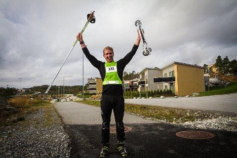 Myten om at alle danskar er dårlege med ski på beina, har Rune Flyvholm avliva.