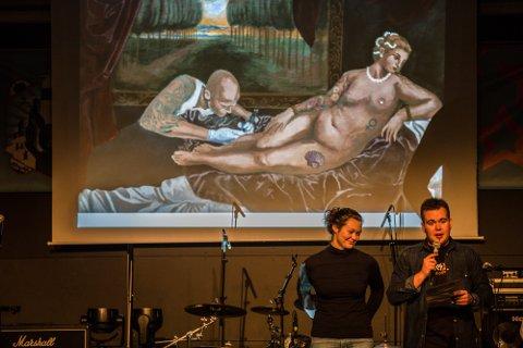 TIL FYLKESFINALEN: Oda Monslaup Ese frå Austrheim med bildet «Venus with tattoo artist».