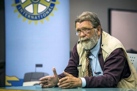 SKEPTISK: Professor Frank Aarebrot.