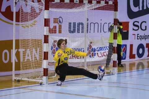 Tertnes-Larvik 24-31(8-18) Tertnes sikra seg bronse i toppserien i handball. Den tredje på rad. Marie Davidsen frå Meland har vore fast fyrstekeeper på laget gjennom heile sesongen.
