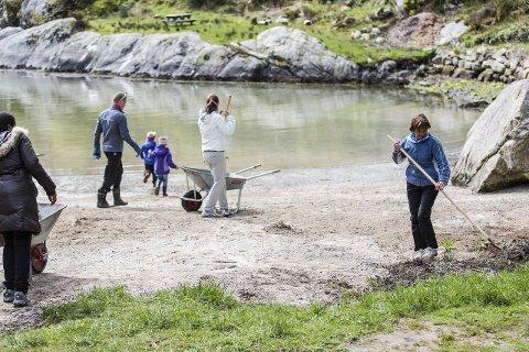 Illustrasjonsfoto: Bergen og Omland Friluftsråd skal tildelast 5 millionar kroner for marin opprydding.