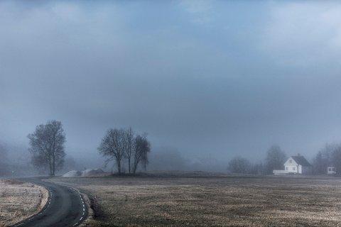 Laurdag er det sjanse for lokal tåke i Nordhordland.