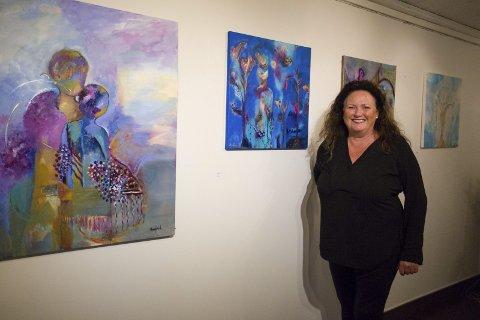 Annfrid Leikvoll opnar utstilling i Galleri Songfuglen.