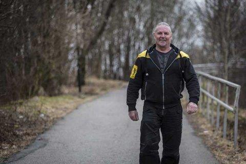 TERAPI: Mosjon og trening, i tillegg til den kristne bodskapen, har vore viktig for å få livet på rett kjøl. Foto: Morten Sæle