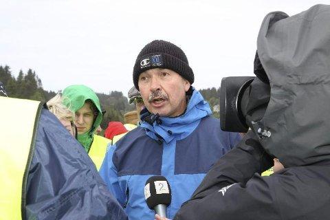 Jan Nordø i Austrheim er svært kritisk til kommunesamanslåing og sentraliseringa av tenestetilbod den medfører. Arkivfoto