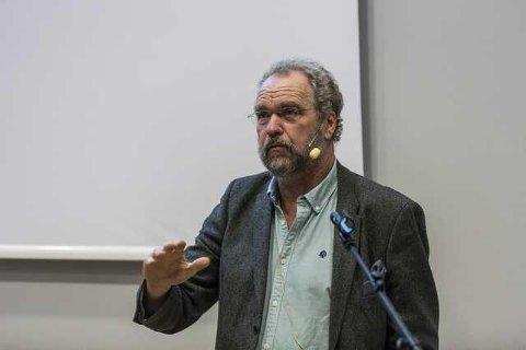 Lars Sponheim er fylkesmann i Hordaland, og i høyringsuttalen til NVE kjem han med ei rekke kritiske merknader til planane om småkraftverk i Masfjorden. Arkivfoto