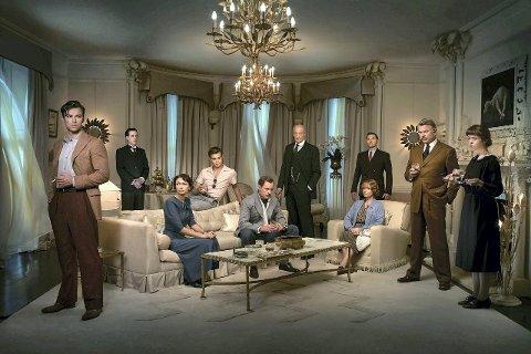 CHRISTIE-KRIM: Denne påsken viser TV 2 to krimserier, begge fra BBC. Dette er en scene fra «And Then There Were None», basert på Agatha Christies bok fra 1939.  FOTO: BBC