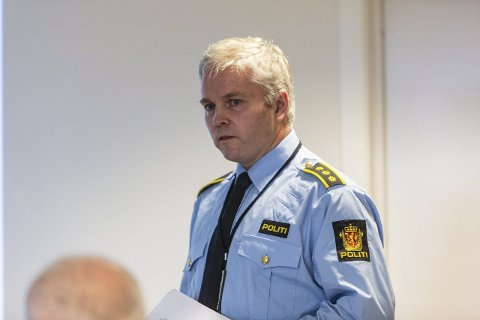 Ivar Holmaas er lensmann i Gulen, Masfjorden og Solund lensmannsdistrikt. Arkivfoto
