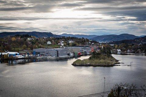 Det kan bli streik blant anna her hos Framo Flatøy dersom ikke Norsk Industri og Fellesforbundet blir enige om årets lønnsoppgjør. Tirsdag ble det brudd i forhandlingene. Arkivfoto
