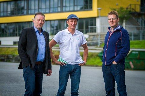 Sveinung Valle (Ap), Jon Askeland (Sp) og Pål Kårbø (KrF) stemte for å kutta i talet på tannklinikkar i Nordhordland.