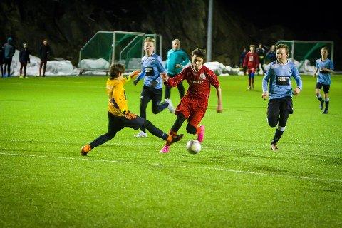 Team Nordhordland banka Sædalen 6-0 i Austmarka på Radøy.