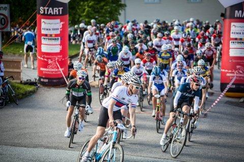 På søndag går starten for det niande sykkelrittet Nordhordland Rundt.