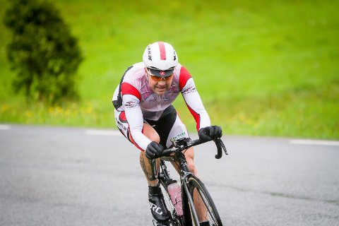 Nordhordland rundt på sykkel 2016. Arvid Johannesen