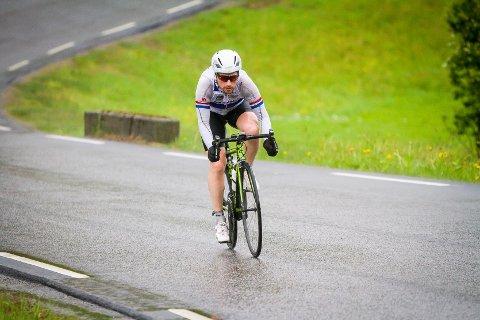 Nordhordland rundt på sykkel 2016. Ørjan Vika