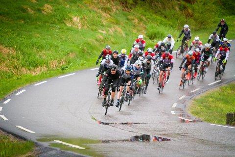 Nordhordland rundt på sykkel 2016. Richard Fyhn