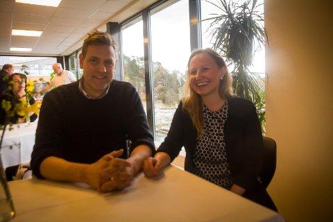 Vegard Ertvaag og Kathrine Molvik