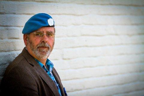 Ivar Fammestad var soldat i Bosnia. Han har slete med det han såg i ettertid.