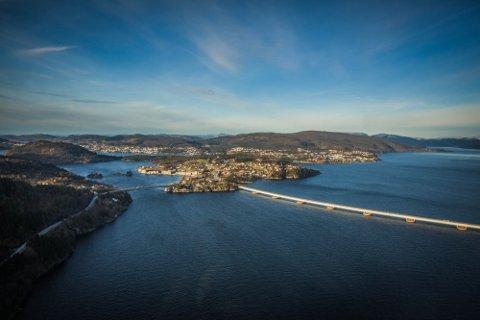 Flyfoto Flatøy