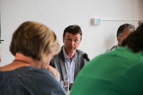 Siste ordførar i Radøy kommune, Jon Askeland.