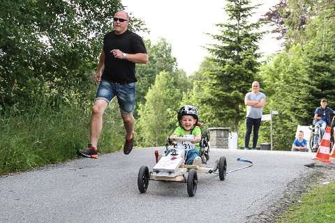 Olabil-kjørerarar Olabilløp St.Hans