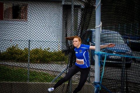 Hedda Hauge Aasgård, her i aksjon under AKS-leikane våren 2016.