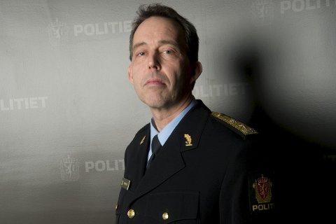 Politimeister Kaare Songstad er usikker på om nedgangen er positiv.
