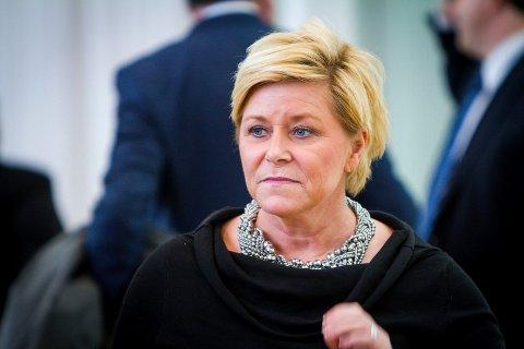 Siv Jensen går av som leiar for Framstegspartiet.