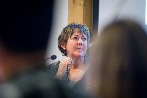 Astrid Aarhus Byrknes, var ein av nesten 150 ordførarar og varaordførarar som tidlegare denne månaden protesterte utanfor Stortinget mot forslaget frå regjeringa om å fjerna den såkalla maskinskatten.