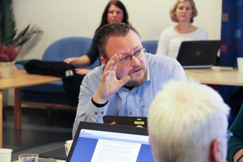 Bjarte Vatnøy (FrP) var for at Meny Åsane kunne levere øl på døra. Saka vert nedstemt på formannskapsmøtet torsdag.