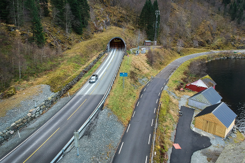 masfjordtunnelen kart Avisa Nordhordland   Kolonnekøyring og stenging i Masfjordtunnelen masfjordtunnelen kart